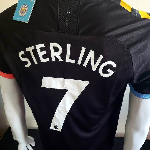 best service 97917 e33b0 Sterling man city Jersey NWT